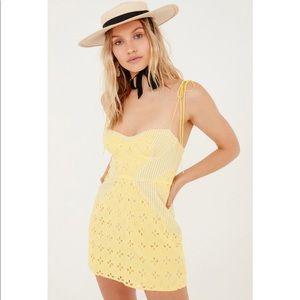 For love and lemons picnic mini dress